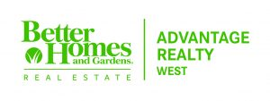 Trisa Fischer Better Homes and Gardens Advantage Realty West Logo